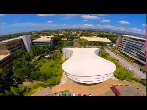 Holy Angel University Aerial - YouTube