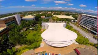 Holy Angel University Aerial