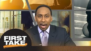 Stephen A Smith I want names of officers involved in Sterling Brown incident  First Take  ESPN