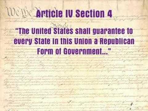 Constitution Lecture 4: Democracy or Republic?