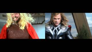 The Avengers Trailer #2 - sweded side-by-side comparison Thumbnail