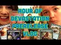 Hour of Devasatation Prerelease Vlog! First HOU Impressions | Magic the Gathering | MtG