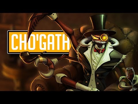 League of Legends #508: ChoGath Top (CZ/Full HD/60FPS)