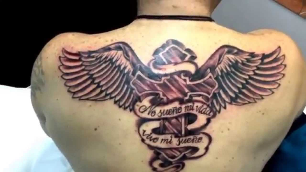 Tattoo Cruz Alada Youtube