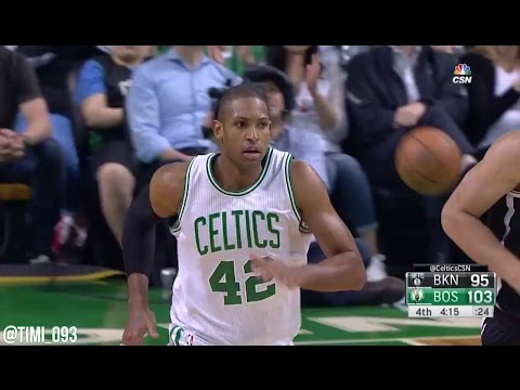 Al Horford Highlights vs Brooklyn Nets (19 pts, 8 reb, 4 ast)