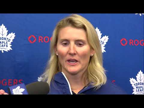 Maple Leafs Development Camp: Hayley Wickenheiser - June 28, 2018