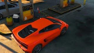 GTA 5 CAR FUEL MOD! (Gasoline Mod)