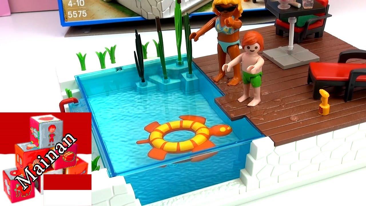 Swimming Pool Playmobil City Life Youtube