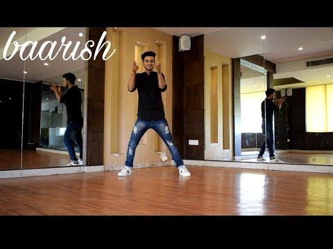Dance on ||💓 Baarish song💓 || half girlfriend movie || choreography by mayank tomar😎