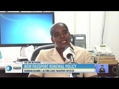 NEW PASSPORT RENEWAL POLICY