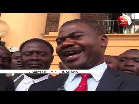 High Court dismiss petition challenging election of TJ Kajwang