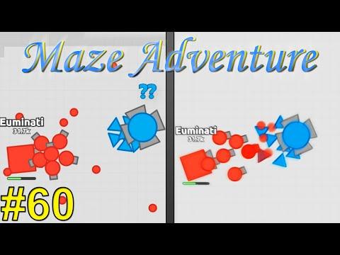 Diep.io | Maze Adventure #60