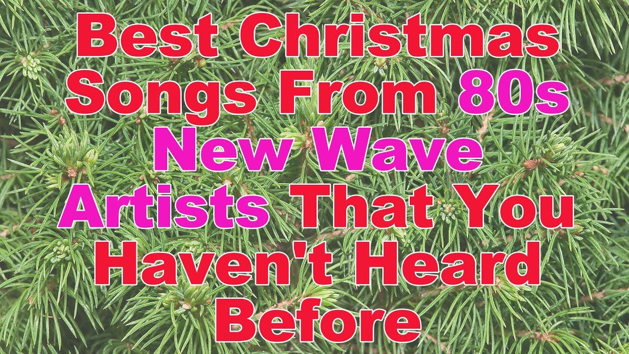 Best Christmas Songs From 80s New Wave Artists That You Haven\'t ...