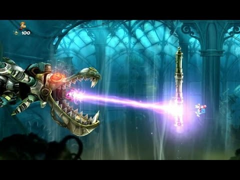 Rayman Legends ~ Every Boss Stage / Boss Fight (Complete Boss Compilation)