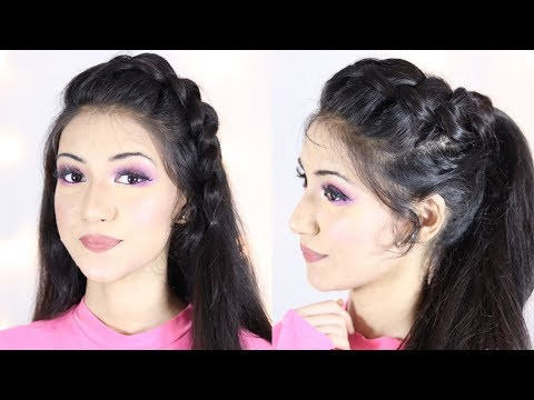 New Ponytail Hairstyle For Indian School or College Girls | Hair Style Girl | Ponytail Hairstyles thumbnail