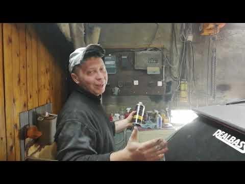 Mazda Familia S-Wagon. Процесс экспресс ремонта
