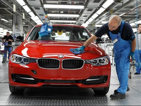 #13 Производство, завод БМВ, BMW