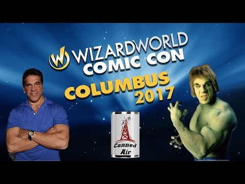 Wizard World Columbus 2017 - Interview with Lou Ferrigno