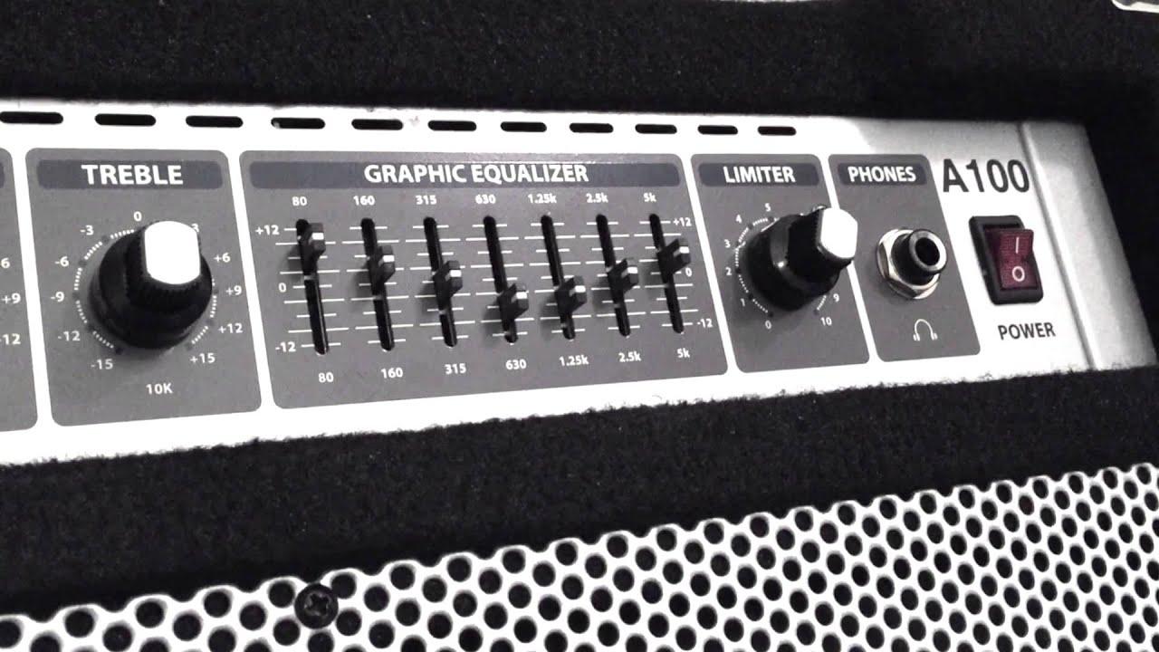 hartke a100 combo bass ampli little sound demo youtube rh youtube com hartke a100 service manual hartke a100 manual pdf