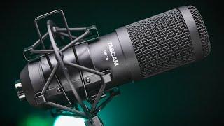 Video: Microfono Studio Tascam Tm-70 PodCast