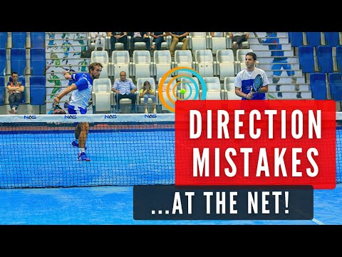 Correct VOLLEY DIRECTION - Easy Padel Tactic