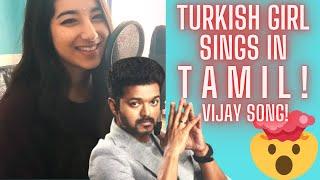 Download Hindi Video Songs - Bairavaa song Azhagiya Soodana Poovey official - Vijay TURKISH GIRL SINGS IN TAMIL feat. MARIA DASA