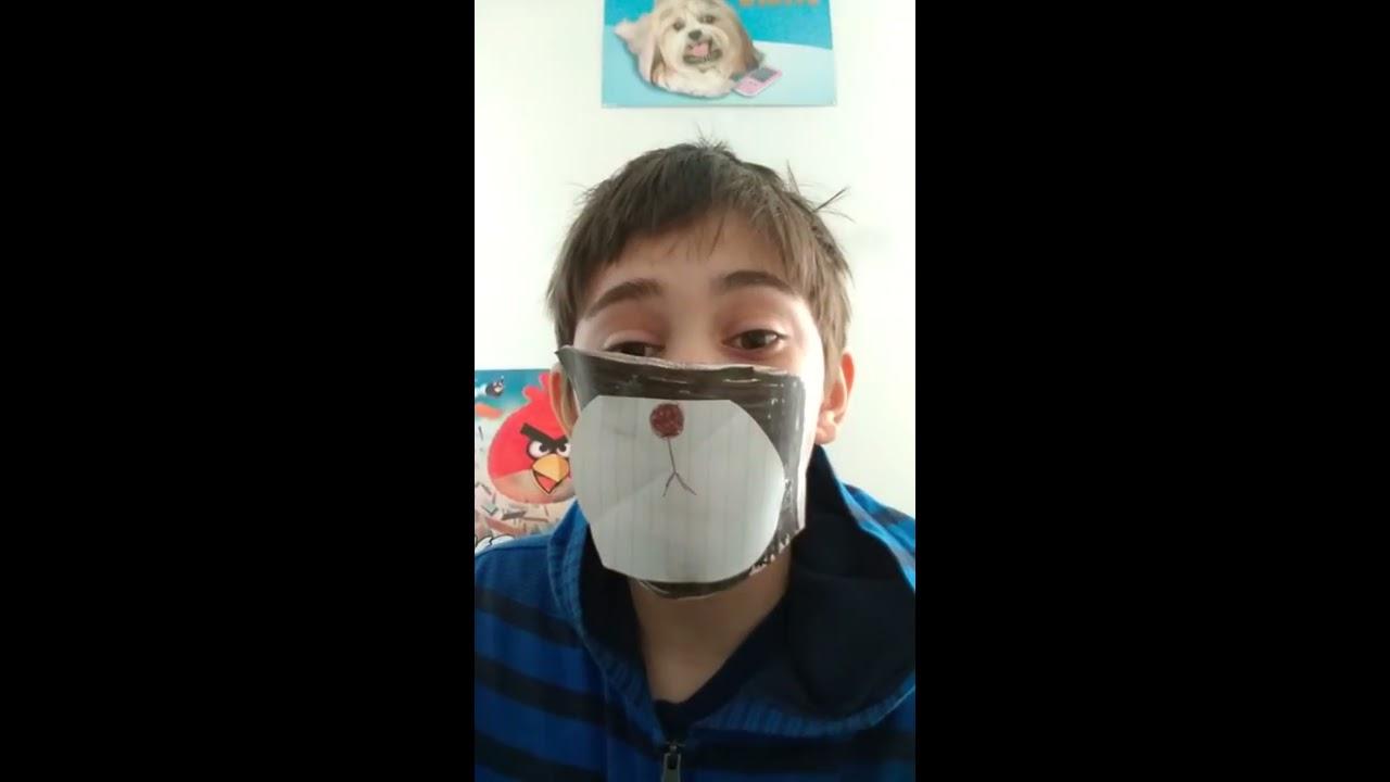 Bear face mask replica tutorial