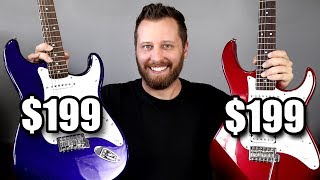 What's The Best $200 Guitar? - Yamaha Pacifica or Squier Affinity!