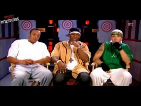 Eminem, 50 Cent & Dr. Dre - Interview on MTV