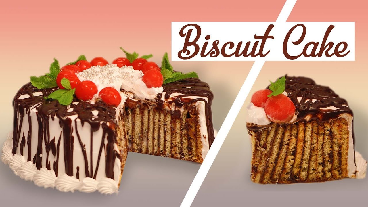 Biscuit Cake Recipe In Hindi Video