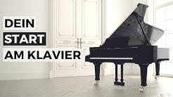 Online Klavierkurs: Dein Start am Klavier - Klavier lernen für Anfänger - ohne Noten - mit Noten