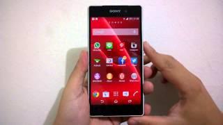 Impresi Desain dan Material Sony Xperia Z2