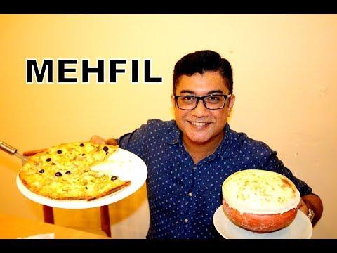 মেহ্ফীল -  HYDERABADI BIRIYANI In Dhaka - PIZZA -  Dine Out With Adnan - BANGLADESH 🇧🇩