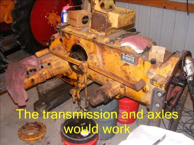 Minneapolis Moline  NT  Experimental Tractor