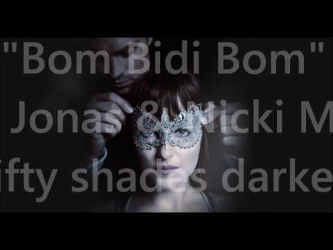 Nick Jonas & Nicki Minaj - Bom Bidi Bom (lyric video) Fifty Shades darker)