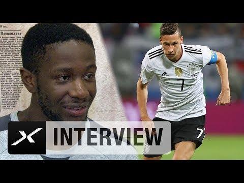 Arnaud Djoum vor DFB: Alles für die Sensation geben   Deutschland - Kamerun   Confed Cup