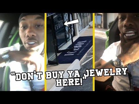 Offset Migos Puts Atlanta Jewelry Hotspot On Blast!