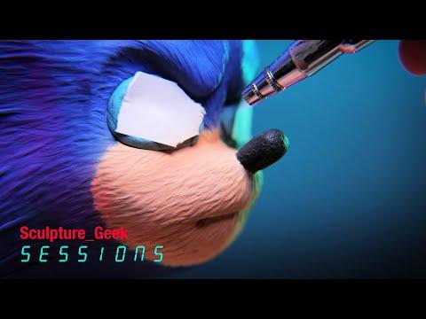 sonic-the-hedgehog-vs-master-sculptor-sculpture_geek-sessions-episode-5