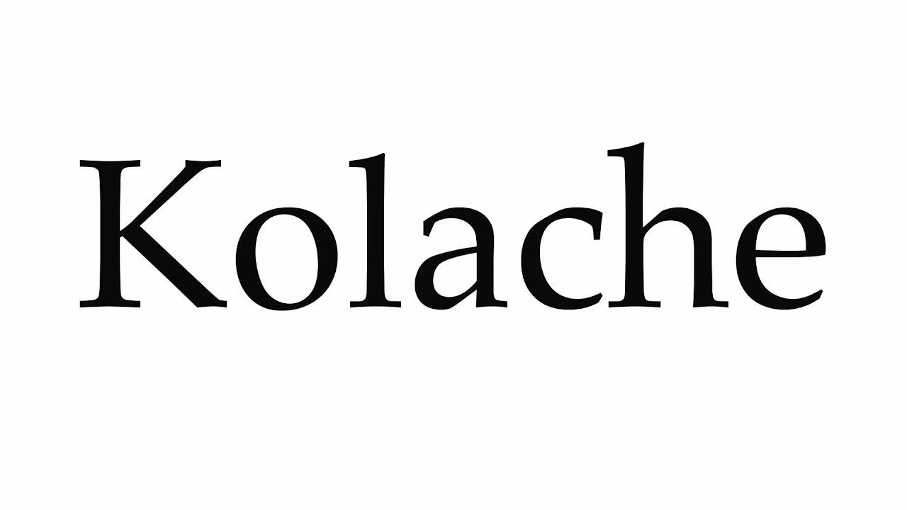 How to Pronounce Kolache - YouTube