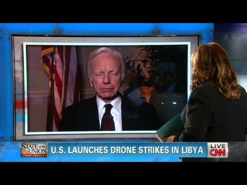 CNN Official Interview: Senator Joe Lieberman 'Squeeze Gadhafi'