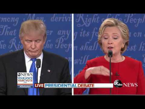Presidential Debate Highlights | Race Relations, Police-Involved Shootings