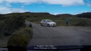 Scotland - Isle of Skye - Dunvegan - Claigan - Street View Car - QQLX0287