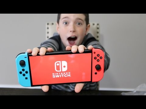 Thumbnail: THEY GAVE US A NINTENDO SWITCH!! FULL UNBOXING!!