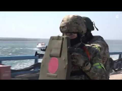 """Как уничтожали """"террористов"""" в Черном море: видео РИА Новости Крым"""
