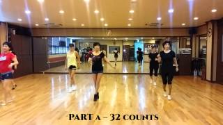 Tchu Tcha Line Dance (Phrased Easy Intermediate)