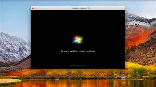 Windows 7 Installation on MacBook