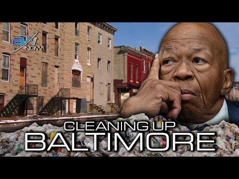 "Trump Backers Rally in Baltimore to Clean Up ""Disgusting Rodent-Infested Mess"""