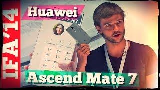 Первый обзор Huawei Ascend Mate 7. Гордый фаблет.