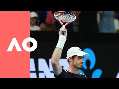 Emotions flow for Andy (1R) | Australian Open 2019