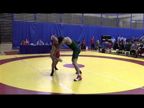 2015 Canada West Championships: 82 kg Ben Christopher vs. Geno Poirier